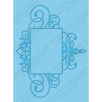 Cuttlebug Embossing Folder - Flourished Frame