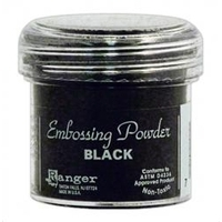 Ranger Embossing Powder Black