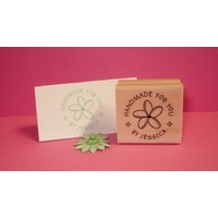 Personalised Stamp - Graphic Small Wood