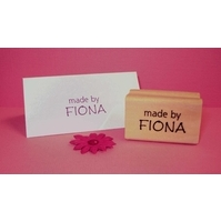 Personalised Stamp - Mini Wood