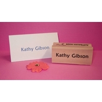 Personalised Stamp - Name Large Wood