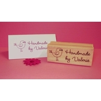 Personalised Stamp - Rectangle Small Wood