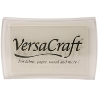 VersaCraft Full Size Ink Pad - White