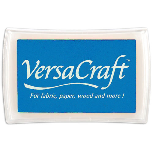 VersaCraft Full Size Ink pad - Cerulean Blue