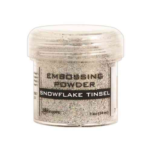 Ranger Embossing Powder Snowflake Tinsel